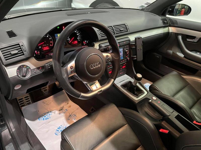 Photo 6 de l'offre de AUDI RS4 4.2 V8 420CH QUATTRO à 36990€ chez Signature auto