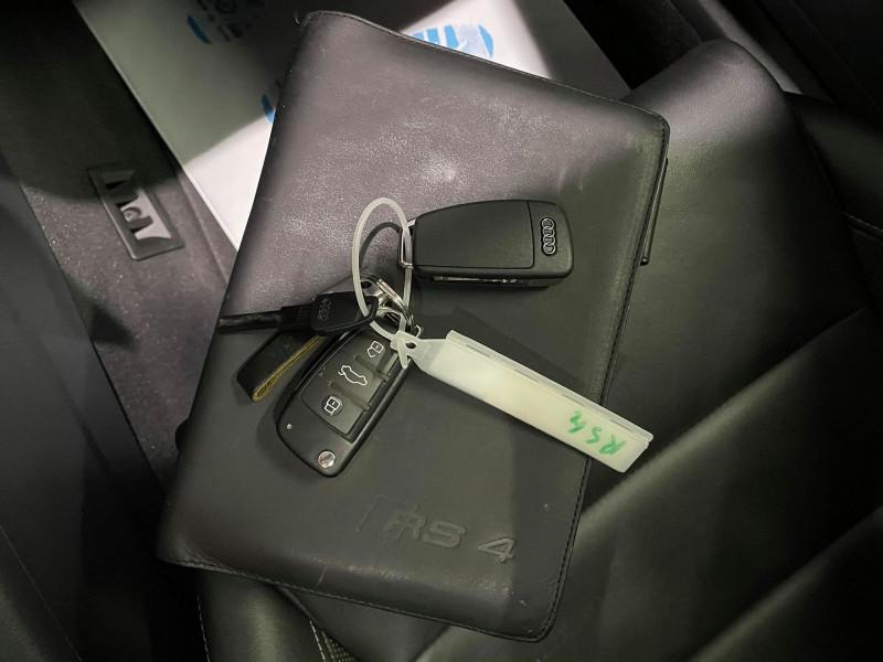Photo 20 de l'offre de AUDI RS4 4.2 V8 420CH QUATTRO à 36990€ chez Signature auto