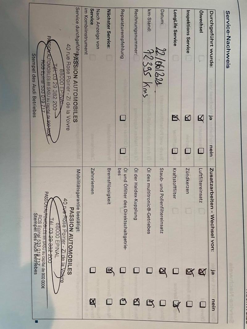 Photo 19 de l'offre de AUDI RS4 4.2 V8 420CH QUATTRO à 36990€ chez Signature auto