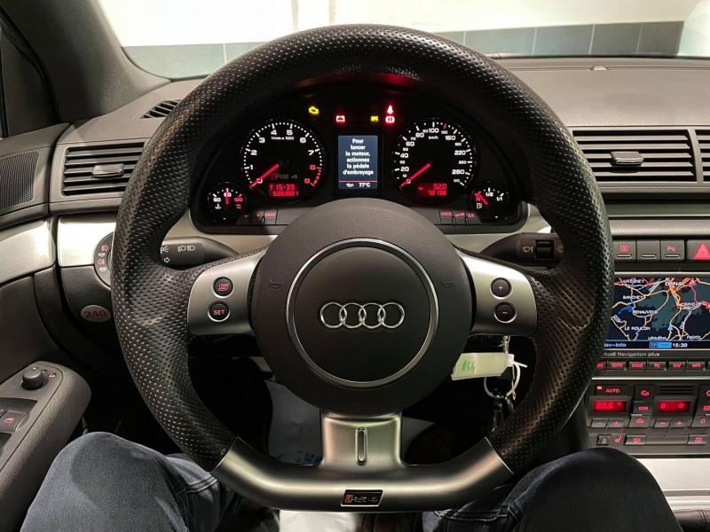 Photo 7 de l'offre de AUDI RS4 4.2 V8 420CH QUATTRO à 36990€ chez Signature auto