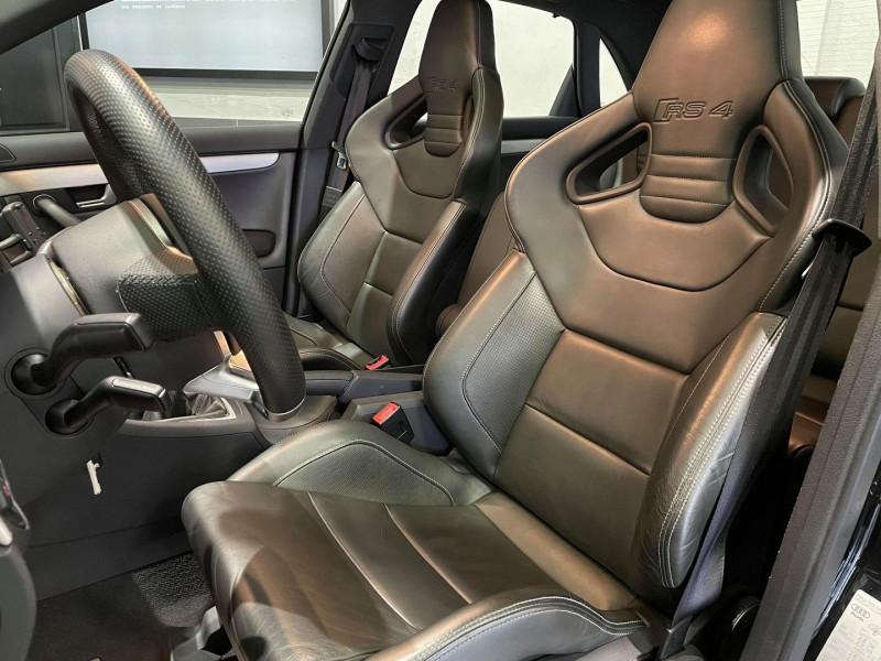 Photo 8 de l'offre de AUDI RS4 4.2 V8 420CH QUATTRO à 36990€ chez Signature auto