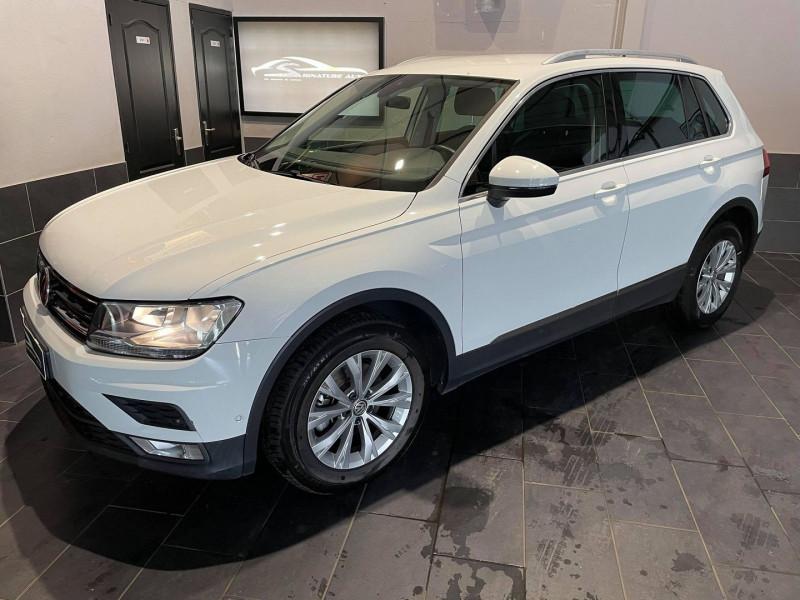 Volkswagen TIGUAN 1.4 TSI 150CH CONFORTLINE 4MOTION DSG6 9CV Essence BLANC Occasion à vendre