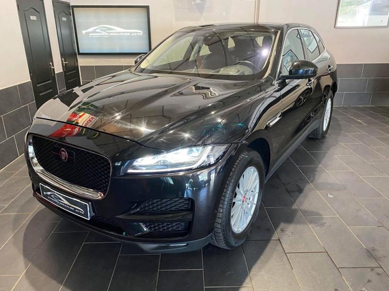 Jaguar F-PACE V6 3.0D 300CH PRESTIGE 4X4 BVA8 Diesel NOIR Occasion à vendre