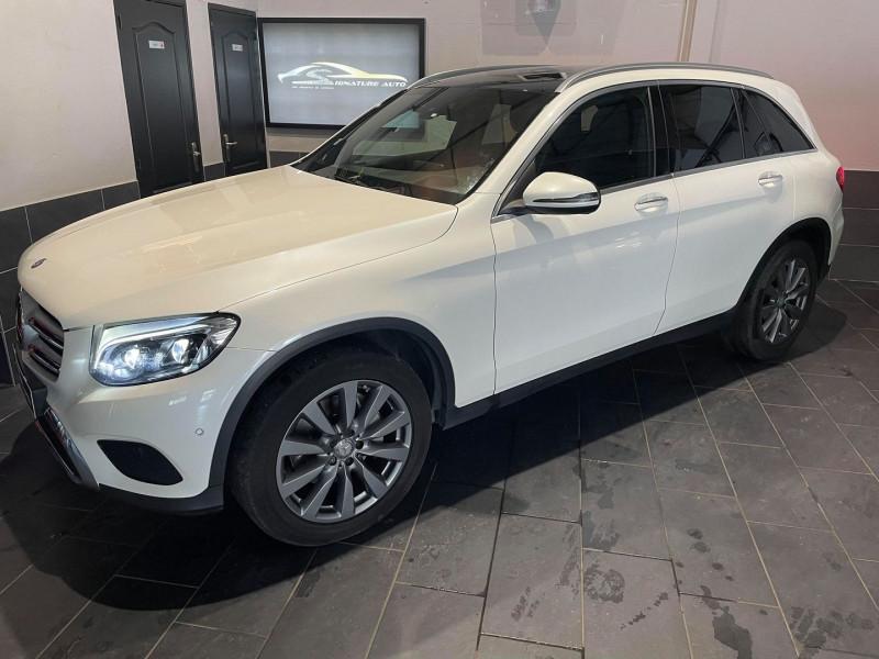 Mercedes-Benz GLC 250 D 204CH FASCINATION 4MATIC 9G-TRONIC Diesel BLANC Occasion à vendre
