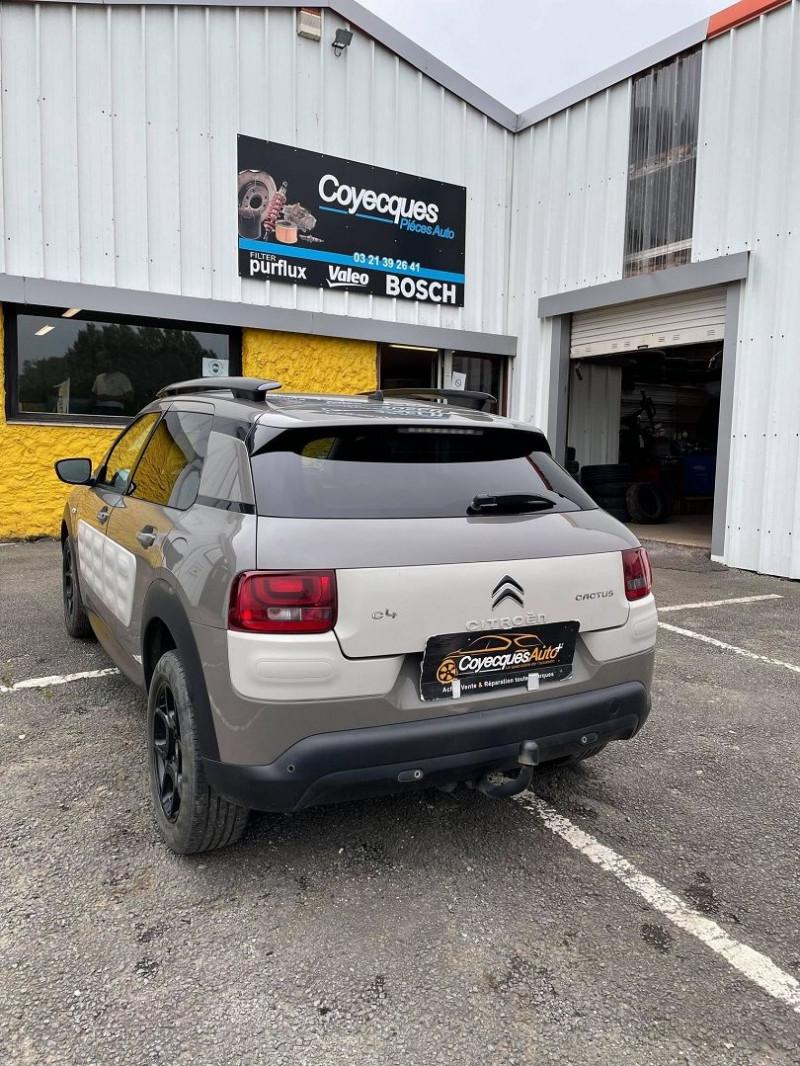 Photo 3 de l'offre de CITROEN C4 CACTUS BLUEHDI 100 SHINE à 9690€ chez Coyecques Auto plus