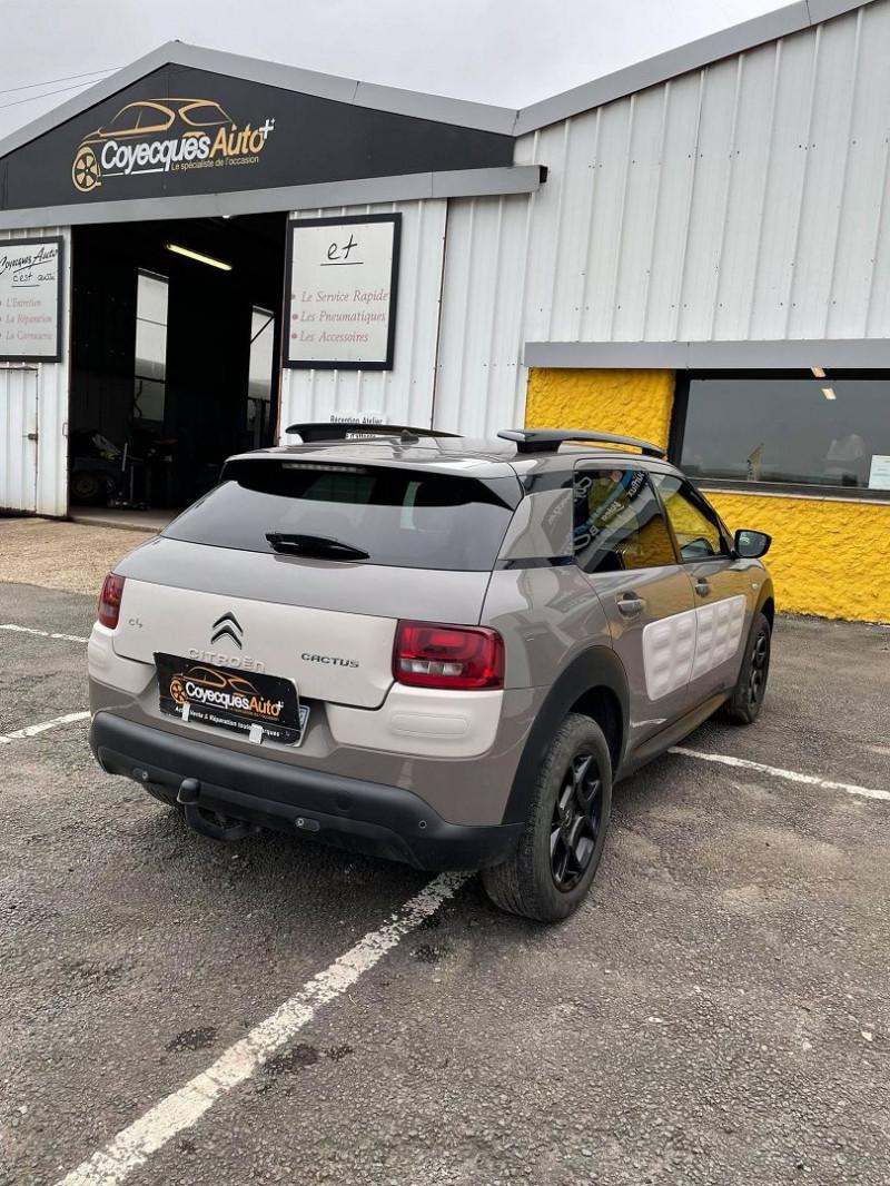 Photo 4 de l'offre de CITROEN C4 CACTUS BLUEHDI 100 SHINE à 9690€ chez Coyecques Auto plus