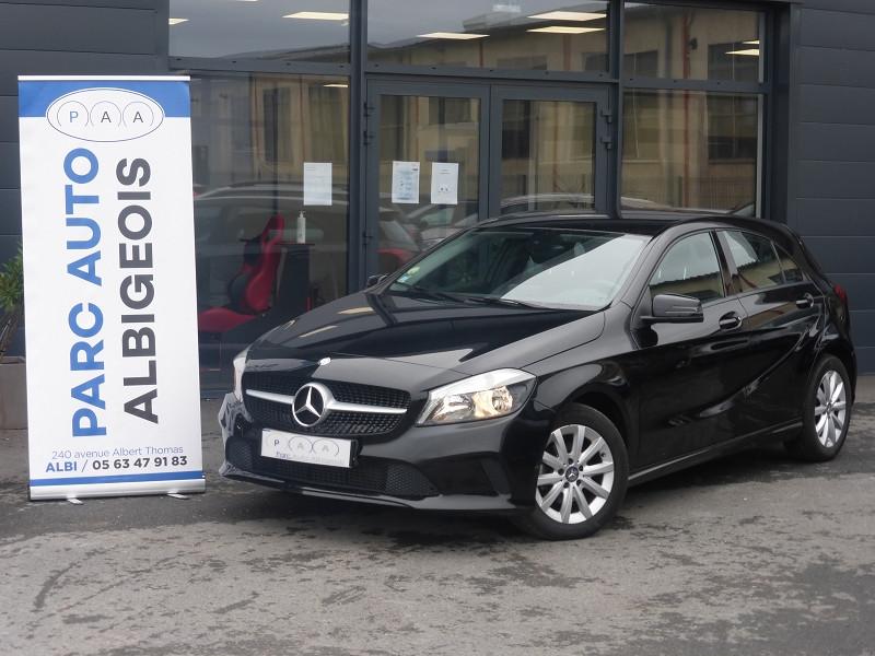 Mercedes-Benz CLASSE A (W176) 180 D BUSINESS 7G-DCT Diesel NOIR Occasion à vendre