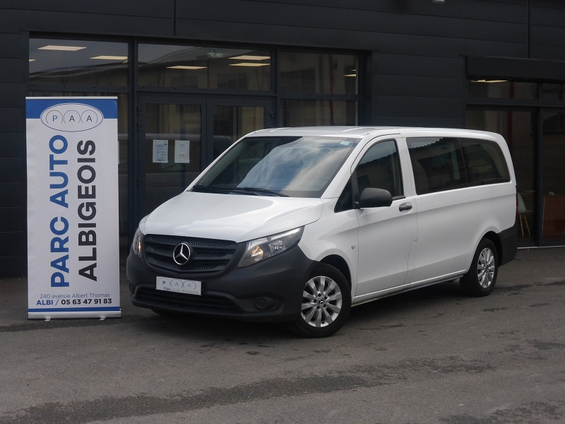 Mercedes-Benz VITO 116 CDI BLUEEFFICIENCY TOURER LONG PRO 7G-TRONIC PLUS Diesel BLANC Occasion à vendre