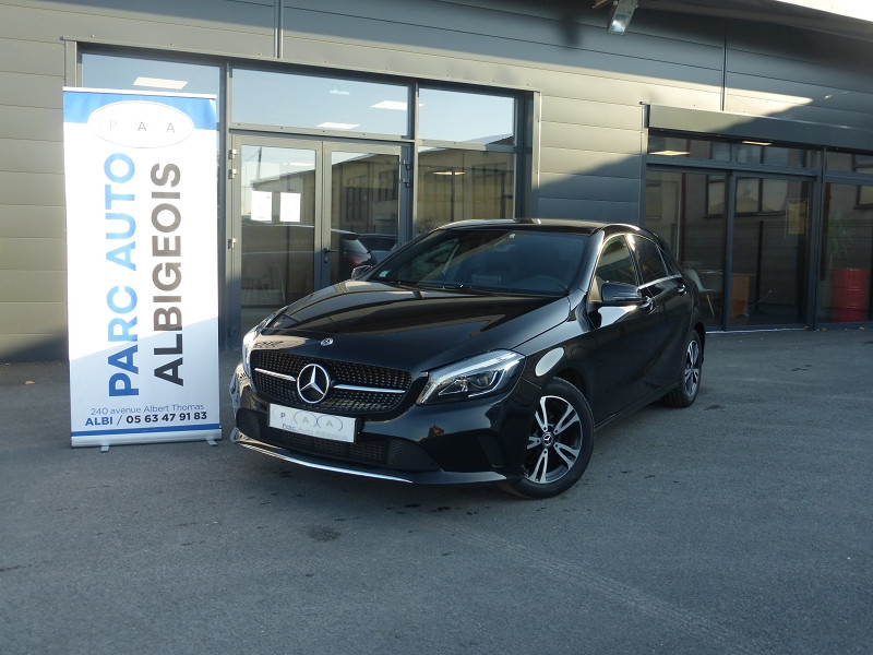 Mercedes-Benz CLASSE A (W176) 180 D BUSINESS EDITION 7G-DCT Diesel NOIR Occasion à vendre