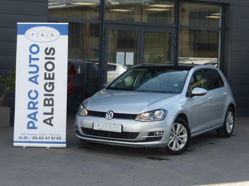 Photo 1 de l'offre de VOLKSWAGEN GOLF VII 1.6 TDI 110CH BLUEMOTION TECHNOLOGY FAP CONFORTLINE BUSINESS DSG7 5P à 16490€ chez Parc auto albigeois