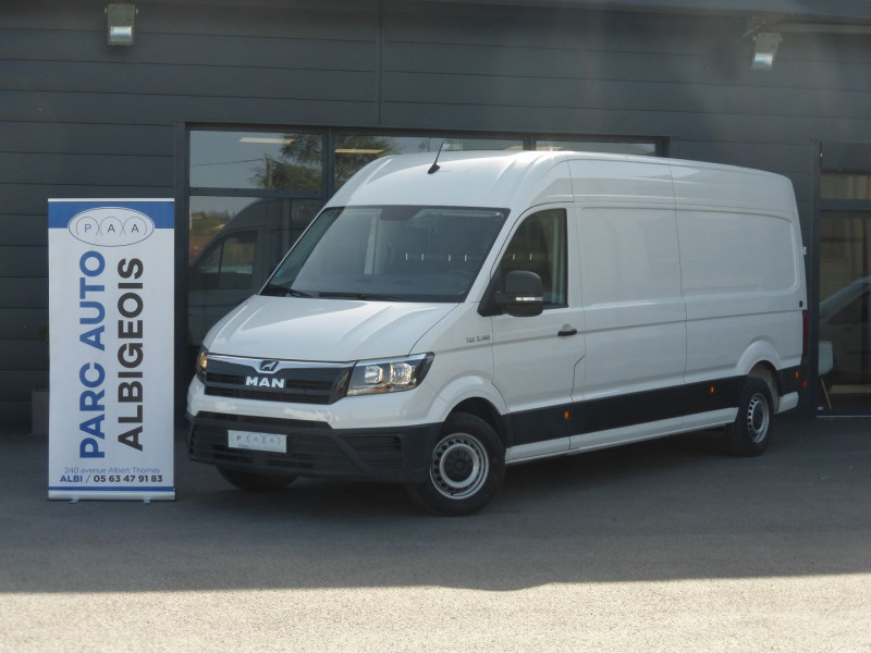 Man TGE FG 3140 3.5T STANDARD NORMAL 2.0 140CH Diesel BLANC Occasion à vendre