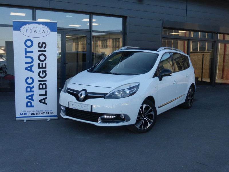 Renault GRAND SCENIC III 1.5 DCI 110CH ENERGY BOSE ECO² 7 PLACES 2015 Diesel BLANC Occasion à vendre
