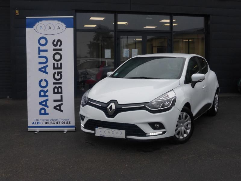 Renault CLIO IV STE 1.5 DCI 90CH ENERGY AIR MEDIANAV ECO² 82G Diesel BLANC Occasion à vendre