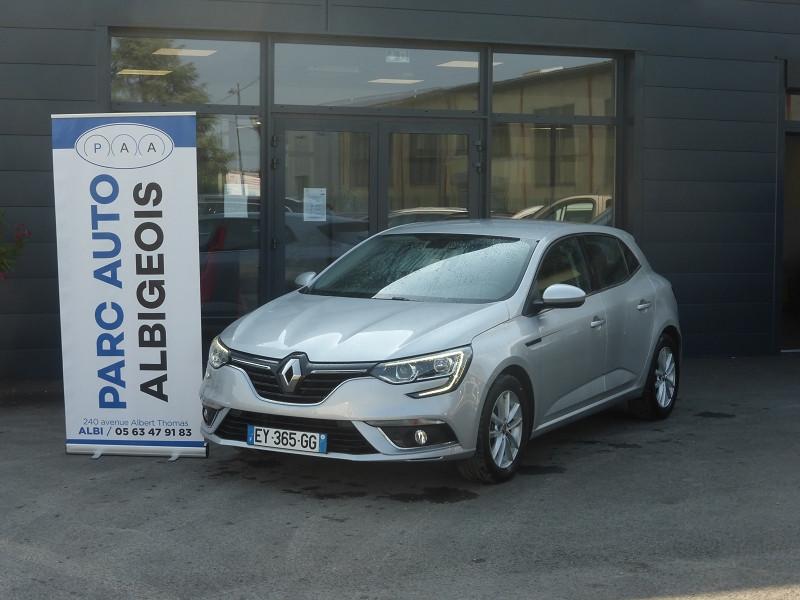 Renault MEGANE IV 1.2 TCE 130CH ENERGY INTENS Essence GRIS C Occasion à vendre