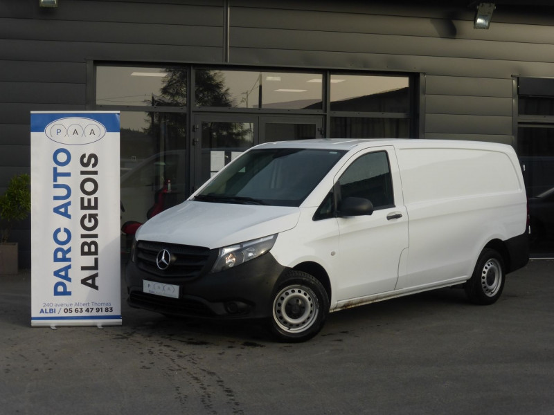 Mercedes-Benz VITO FG 111 CDI LONG PRO E6 Diesel BLANC Occasion à vendre