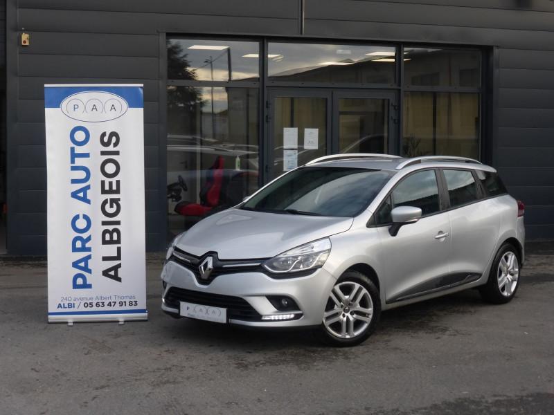 Renault CLIO IV ESTATE 0.9 TCE 90CH ENERGY BUSINESS Essence GRIS C Occasion à vendre