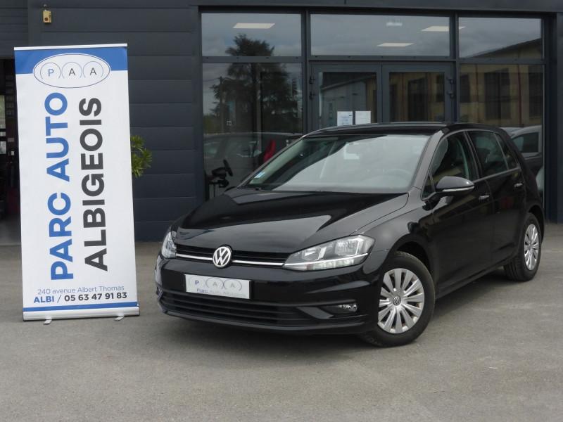 Volkswagen GOLF VII 1.6 TDI 115CH FAP TRENDLINE BUSINESS DSG7 5P Diesel NOIR Occasion à vendre