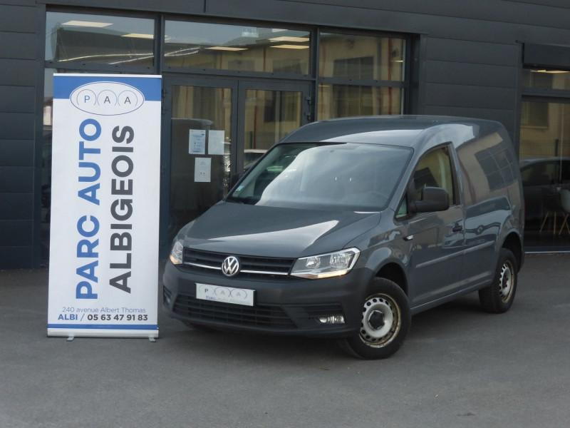 Volkswagen CADDY VAN 2.0 TDI 122CH BUSINESS LINE 4MOTION Diesel GRIS C Occasion à vendre