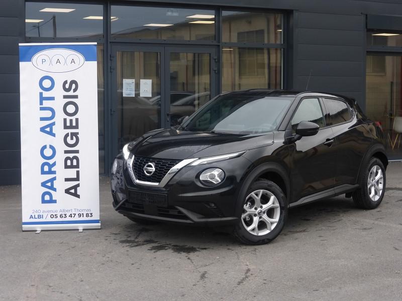 Nissan JUKE 1.0 DIG-T 117CH ACENTA Essence NOIR Occasion à vendre