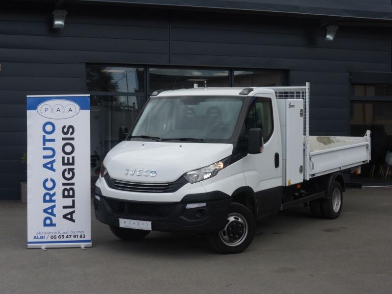 Iveco DAILY CCB 35C14 EMPATTEMENT 4100 HI-MATIC Diesel BLANC Occasion à vendre