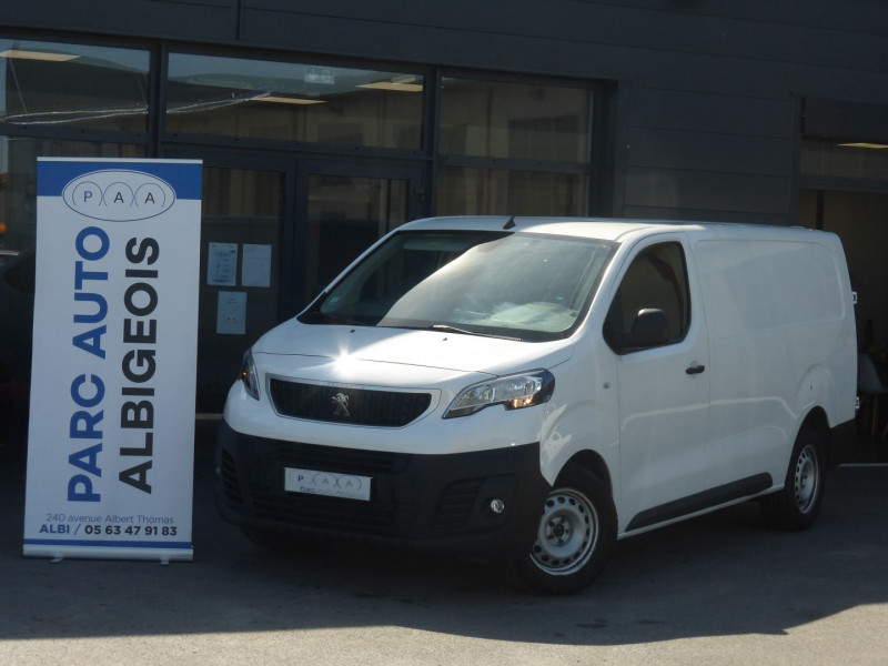 Peugeot EXPERT FG LONG 2.0 BLUEHDI 120CH S&S PREMIUM Diesel BLANC Occasion à vendre