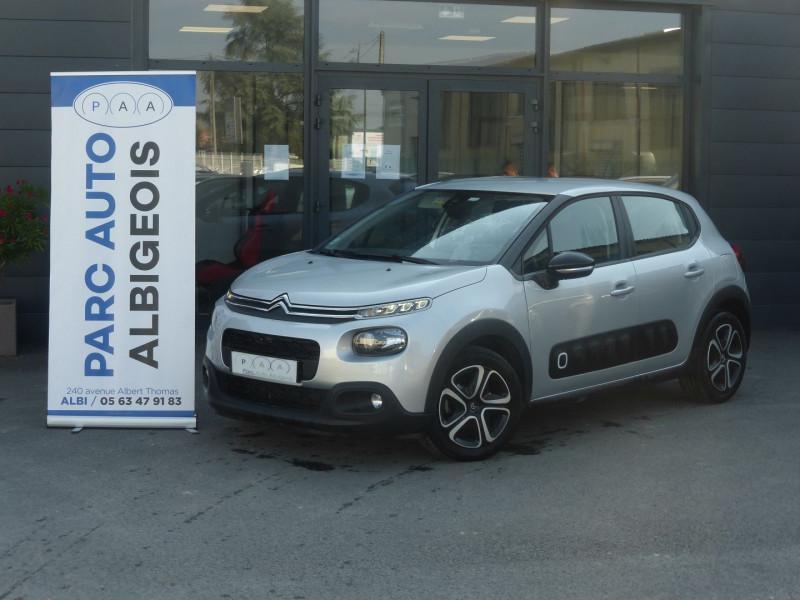 Photo 1 de l'offre de CITROEN C3 BLUEHDI 100CH FEEL S&S à 13990€ chez Parc auto albigeois