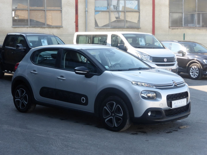 Photo 2 de l'offre de CITROEN C3 BLUEHDI 100CH FEEL S&S à 13990€ chez Parc auto albigeois
