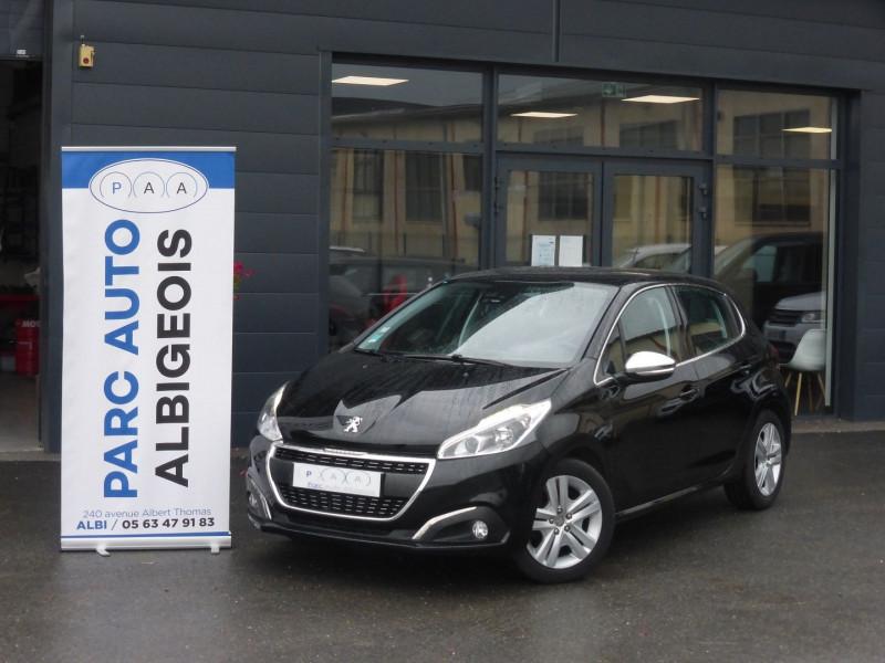 Peugeot 208 1.6 BLUEHDI 100CH ALLURE BUSINESS S&S 5P Diesel NOIR Occasion à vendre