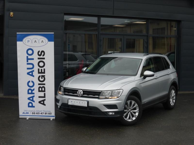 Volkswagen TIGUAN 2.0 TDI 150CH CONFORTLINE BUSINESS DSG7 EURO6D-T Diesel GRIS C Occasion à vendre