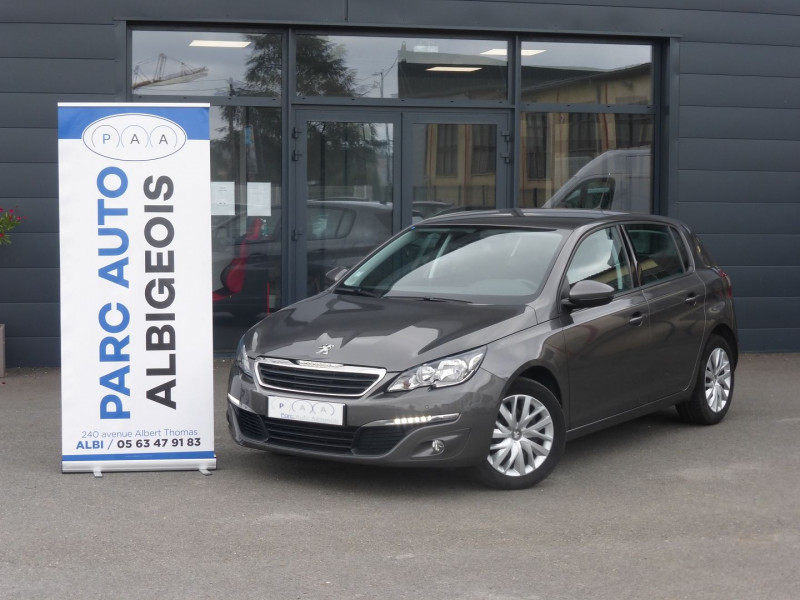 Peugeot 308 AFFAIRE 1.6 BLUEHDI 100CH S&S PREMIUM PACK Diesel GRIS C Occasion à vendre