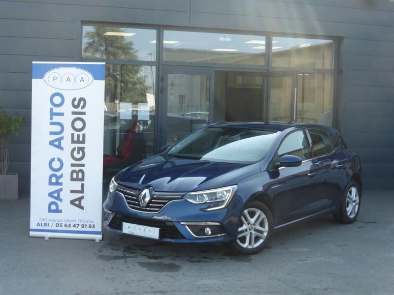 Renault MEGANE IV 1.5 DCI 110CH ENERGY BUSINESS EDC Diesel BLEU F Occasion à vendre