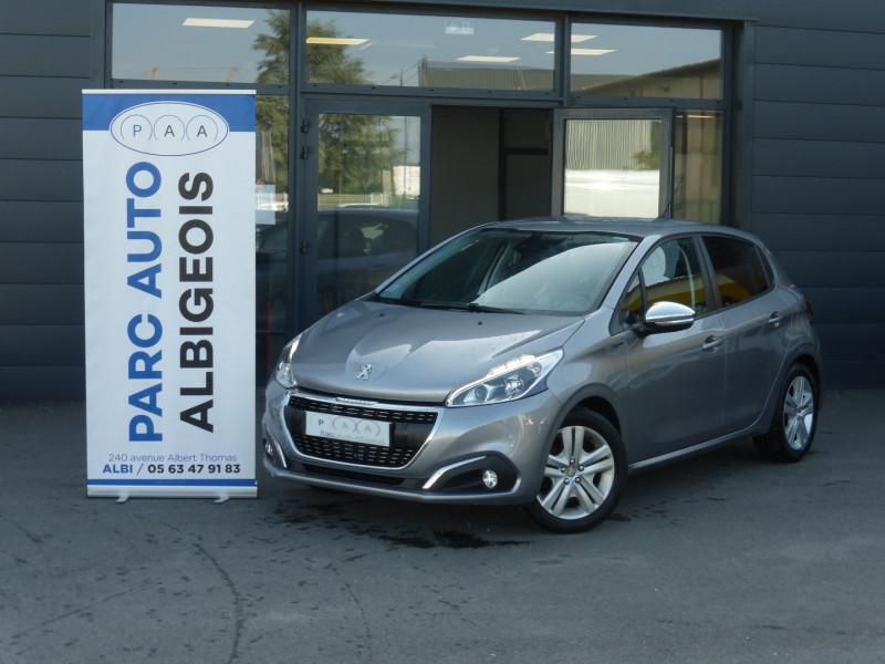 Peugeot 208 1.2 PURETECH 82CH E6.C SIGNATURE 5P Essence GRIS C Occasion à vendre