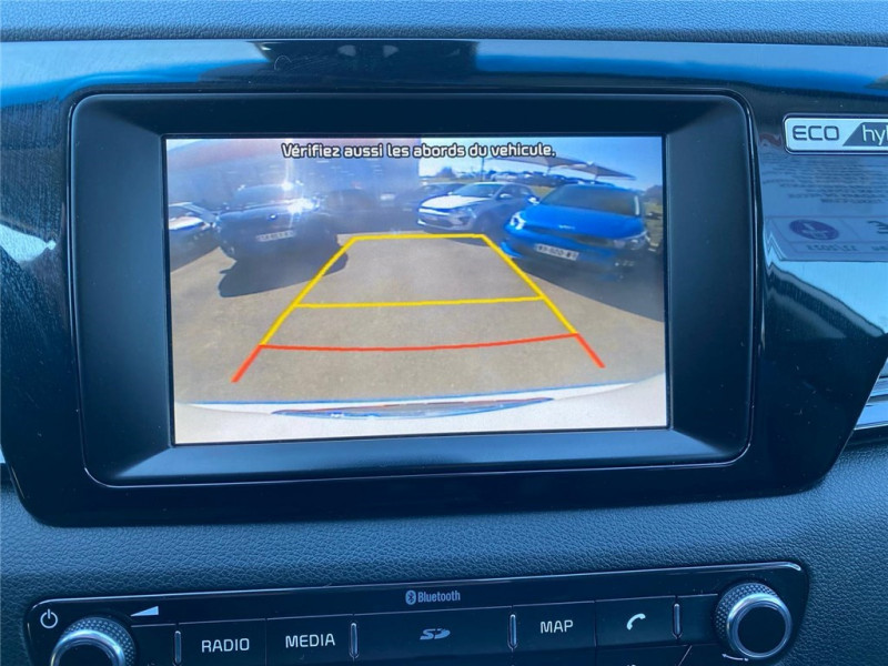 Photo 8 de l'offre de KIA NIRO HYBRID 1.6 GDI 105 CH + ELECTRIQUE 43.5 CH DCT6 à 15900€ chez Jacquet Automobiles