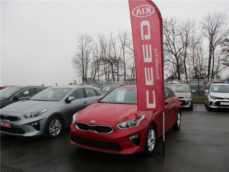 Kia CEED 1.0 T-GDI 120 CH ISG BVM6 Essence sans plomb Rouge, (AA9) NEW INFRA RED M Occasion à vendre