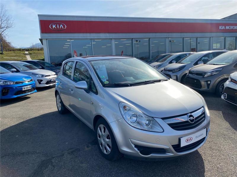 Opel CORSA 1.2 - 80 TWINPORT Essence sans plomb Gris Clair, Métallisé Occasion à vendre