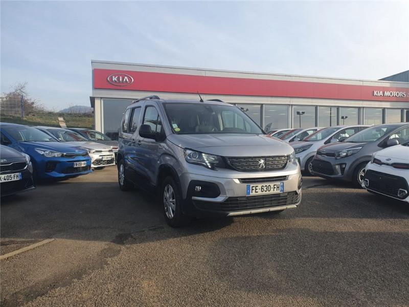 Peugeot RIFTER STANDARD BLUEHDI 130 S&S BVM6 Diesel Gris Clair, Métallisé Occasion à vendre