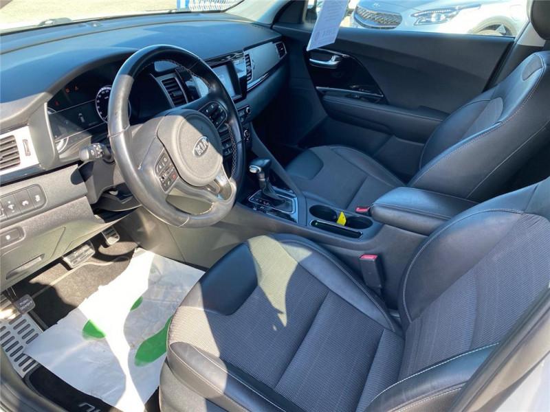 Photo 6 de l'offre de KIA NIRO HYBRID 1.6 GDI 105 CH + ELECTRIQUE 43.5 CH DCT6 à 15900€ chez Jacquet Automobiles