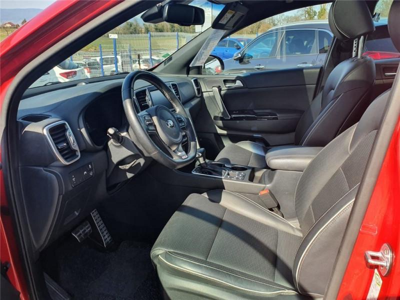 Photo 11 de l'offre de KIA SPORTAGE 1.7 CRDI 141 ISG 4X2 DCT7 à 24900€ chez Jacquet Automobiles