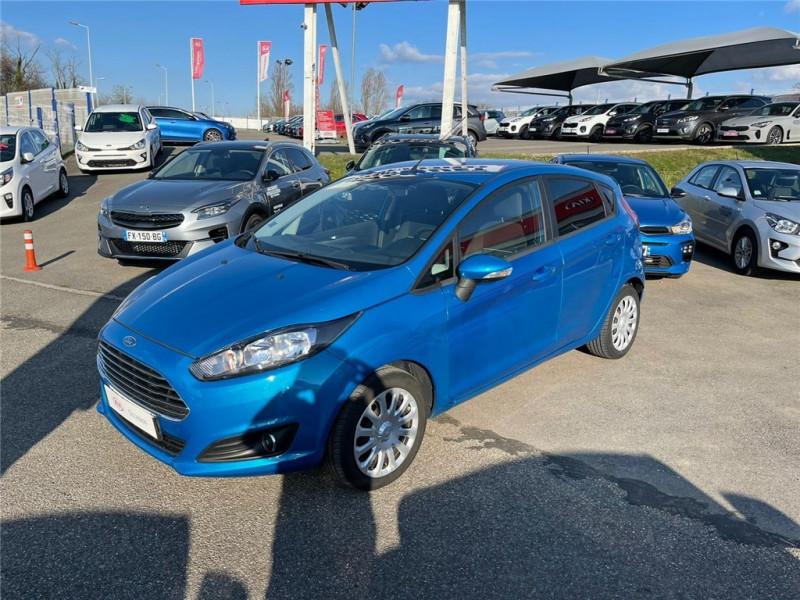 Ford FIESTA 1.0 ECOBOOST 100 S&S Essence sans plomb Bleu, Métallisé Occasion à vendre