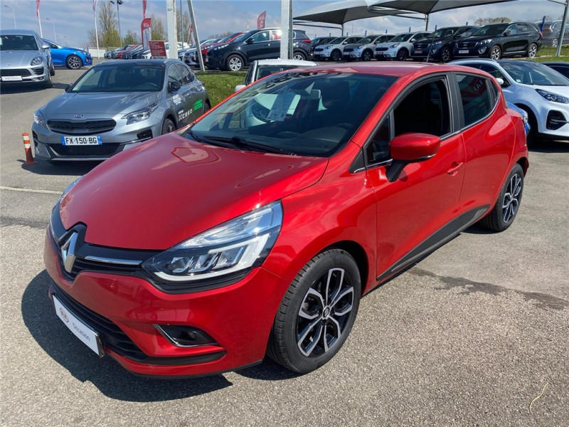 Renault CLIO IV TCE 90 Essence sans plomb Rouge, Métallisé Occasion à vendre