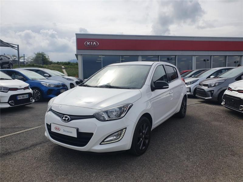 Hyundai i20 1.2 85 Essence sans plomb Blanc Occasion à vendre