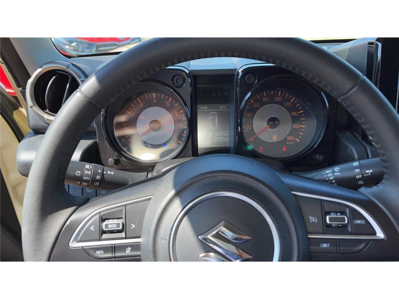 Photo 8 de l'offre de SUZUKI JIMNY 1.5 VVT AUTO à 27900€ chez Jacquet Automobiles