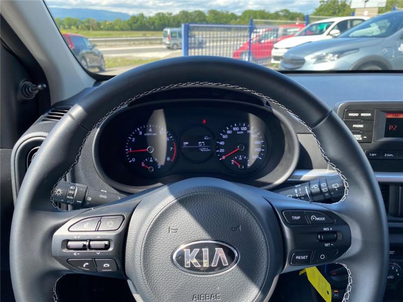 Photo 9 de l'offre de KIA PICANTO MY21 1.0 DPI 67CH ISG BVM5 à 10400€ chez Jacquet Automobiles