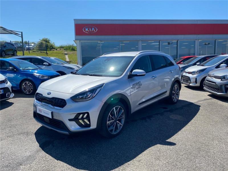 Photo 1 de l'offre de KIA NIRO HYBRID 1.6 GDI 105 CH + ELECTRIQUE 43.5 CH DCT6 à 30900€ chez Jacquet Automobiles