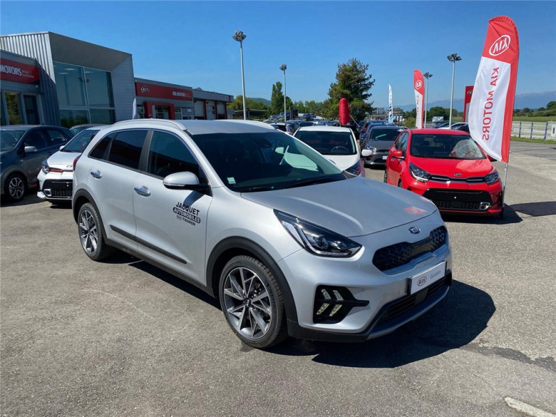 Photo 3 de l'offre de KIA NIRO HYBRID 1.6 GDI 105 CH + ELECTRIQUE 43.5 CH DCT6 à 30900€ chez Jacquet Automobiles