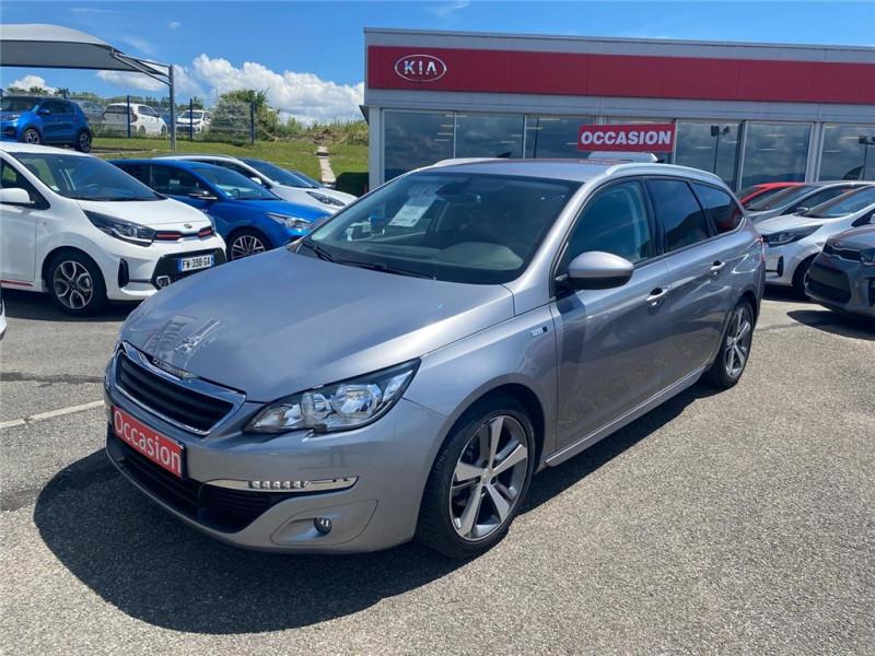 Peugeot 308 SW 1.2 PURETECH 110CH S&S BVM5 Essence sans plomb Gris Clair, Métallisé Occasion à vendre