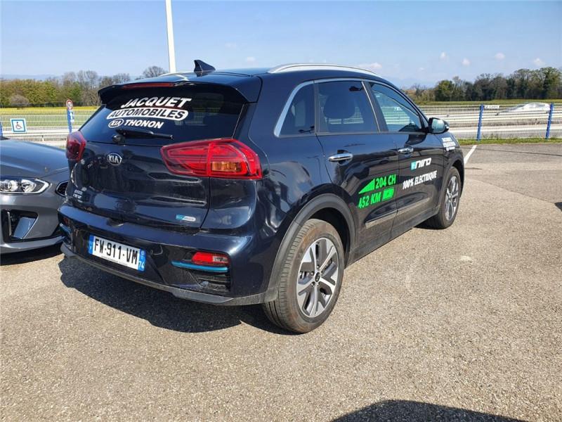 Photo 4 de l'offre de KIA E-NIRO ELECTRIQUE 204 CH à 36550€ chez Jacquet Automobiles