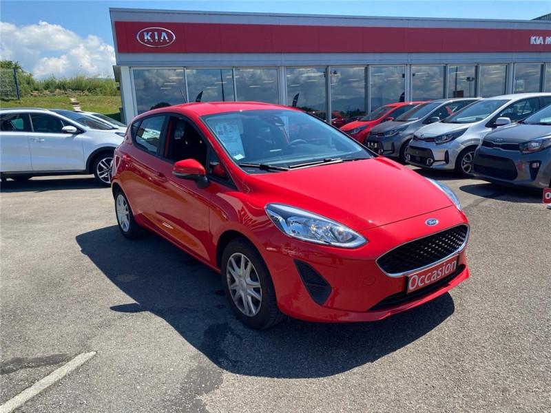 Ford FIESTA 1.5 TDCI 85 CH S&S BVM6 Diesel Rouge Occasion à vendre