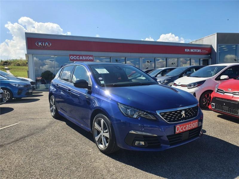 Peugeot 308 PURETECH 130CH S&S EAT8 Essence sans plomb Bleu, Métallisé Occasion à vendre