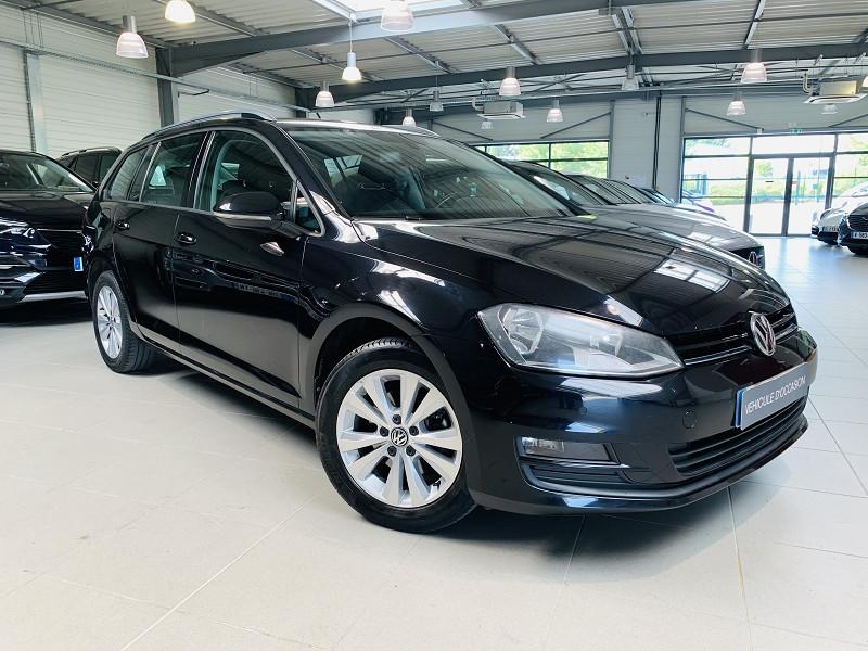 Volkswagen GOLF VII SW 1.6 TDI 105CH BLUEMOTION TECHNOLOGY FAP CONFORTLINE Diesel NOIR Occasion à vendre